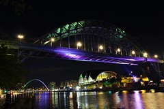quayside (anthhurson) Tags: quayside northeast rivertyne tynebridge milleniumbridge sage baltic canonphotography nightlights gateshead newcastle geordies