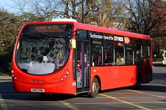 SK63 KMG, Commercial Road, Southampton, November 28th 2016 (Southsea_Matt) Tags: sk63kmg 47420 route3 first hantsdorset cityreds wright streetlite commercialroad southampton hampshire england unitedkingdom november 2016 autumn canon 80d bus omnibus transport