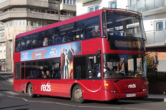 HF09 BJE, Blechynden Terrace, Southampton, November 28th 2016 (Southsea_Matt) Tags: hf09bje 1132 routex7a goahead wiltsdorset salisburyreds scania n230ud omnidekka blechyndenterrace southampton hampshire england unitedkingdom november 2016 autumn canon 80d bus omnibus transport