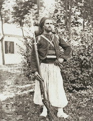 Zouave des troupes françaises au Maghreb vers 1900... Collection Reynald ARTAUD (Reynald ARTAUD) Tags: 1900 années maghreb algérie maroc tunisie zouave troupes françaises collection reynald artaud