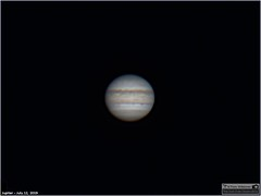 Jupiter - July 12, 2019 (The Dark Side Observatory) Tags: tomwildoner night sky deepsky space outerspace skywatcher telescope 120ed celestron cgemdx asi290mc zwo astronomy astronomer science canon canon6d deepspace guided weatherly pennsylvania observatory darksideobservatory stars star tdsobservatory backyardeos earthskyscience planet jupiter july 2019