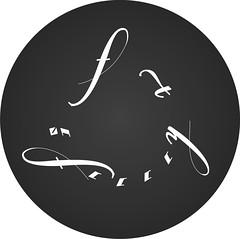 1111 ч=б Эмблема круг, монограмма, лого журнала (Nanaccept) Tags: эмблема круг монограмма 1111 черная белая лого журнала