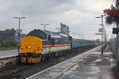 37419 arrives at Lowestoft with 5J67 0700 Norwich - Lowestoft 11/07/19. (chrisrowe37419) Tags: 37419 5j67 0700 norwich lowestoft 110719 anglia shortset mainline