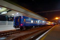 Train in Kyiv (lex.embers) Tags: train trainspotting movement dynamocs lowlight departure