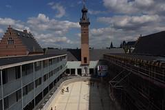 Den ouwen dok wordt Hotel (DirkVandeVelde ( very busy)) Tags: europa europ europe belgie belgium belgica belgique buiten antwerpen anvers antwerp mechelen malinas malines zwemdok hotel rodekruisplein