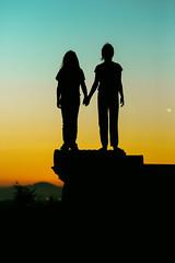 Oakland Sunsets (Thomas Hawk) Tags: america bayarea california eastbay holly hollypeterson jubileegutel mountainviewcemetery oakland sfbayarea usa unitedstates unitedstatesofamerica westcoast cemetery norcal silhouette sunset fav10 fav25