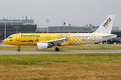 D-ABDU (PlanePixNase) Tags: aircraft airport planespotting haj eddv hannover langenhagen eurowings hertz airbus 320 a320