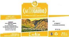 Italy - Mezzogaudio (Fara San Martino) (cigpack.at) Tags: italy italien luna paleale farasanmartino mezzogaudio bier beer brauerei brewery label etikett bierflasche bieretikett flaschenetikett