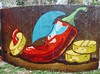 S p i c e (Ladyhelen_) Tags: chillipepper graffiti colors spicy red landscape quotes redpepper hot hotfood