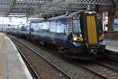 Scotrail Class 380/1 380104 - Pailsey Gilmour Street (dwb transport photos) Tags: abellio scotrail emu 380104 paisleygilmourstreet paisley