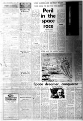 The Melbourne Herald- Monday July 14, 1969- Page 4- Apollo 11 Mission Buildup (Vax80) Tags: apollo 11 moon landing nasa national aeronautics space administration july 1969 melbourne the herald newspaper neil armstrong edwin buzz aldrin michael collins saturn command service lunar module rocket america states united australia kennedy canaveral cape