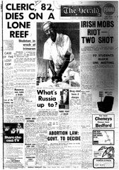 The Melbourne Herald- Monday July 14, 1969- Page 1- Apollo 11 Mission Buildup (Vax80) Tags: apollo 11 moon landing nasa national aeronautics space administration july 1969 melbourne the herald newspaper neil armstrong edwin buzz aldrin michael collins saturn command service lunar module rocket cape canaveral kennedy australia united states america