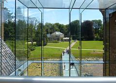 View from glass construction Ruurlo Castle - Museum More (joeke pieters) Tags: 1480580 panasonicdmcfz150 kasteelruurlo museummore ruurlo achterhoek gelderland nederland netherlands holland glasconstructie glassconstruction