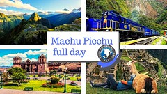 Machu Picchu full day. ‼️ Peru adventure trek offers an ideal tour for people who do not have much time. Tour to Machu Picchu a full day from Cusco. Enjoy a quiet train ride through the amazing jungle and fantastic mountains 😍.. Visit o (Peru adventure trek) Tags: