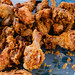 Close up of delicious fried chicken