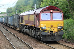 HOLYTOWN 66172 PAUL MELLENEY (johnwebb292) Tags: holytown motherwell diesel class 66 66172 paulmelleney dbs