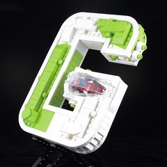 G-Wing Hero (davekaleta) Tags: lego spaceship starfighter alphabet letter