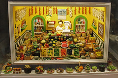 The Fully Stocked Fruit Shop (big_jeff_leo) Tags: minature small model house spain