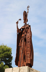 Rusty Bishop (big_jeff_leo) Tags: statue metal bishop catholic spain spanish man art sculpture artistic