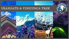 Ausangate and Vinicunca Rainbow Mountain Trek - 5 days‼️ Go ahead and explore the Ausangate snow-covered path, a route full of different adventure activities, which little by little has become one of the best options to know the historical mysteri (Peru adventure trek) Tags: pat rainbowmountain trekkingcusco vinicunca adventuresincusco cuscotravel peruadventuretrek cuscoperu ausangate