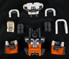Crater Maker 5000 - Breakdown (Blake Foster) Tags: lego space spaceship hovercar flying car hover afol moc lego:theme=space lego:scale=minifig scifi