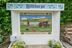 Millthorpe Well Dressing 2019 (little mester.) Tags: welldressing welldressing2019 northeastderbyshire derbyshirepeakdistrict derbyshiretradition flowers water