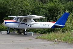 Reims Cessna F152 G-CIPY (Gavin Livsey) Tags: elstree c152 cessna gcipy