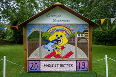 Dronfield-Woodhouse Well Dressing 2019 (little mester.) Tags: welldressing welldressing2019 northeastderbyshire derbyshirepeakdistrict derbyshiretradition flowers water