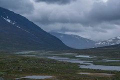 Kungsleden, Sweden (22-6-2019) (TijmOnTour) Tags: kungsleden sverige sweden lapland lappland sami sapmi reindeer bridge snow mountains clouds summer midsummer midnightsun trail hiking backpacking arcticcircle intothewild wilderness river lake water cold camping tent canyon exploring d3300 vandring fjällvandring norrbotten friends signs view landscape laponia wildlife unesco worldheritage nature rocks waterfall
