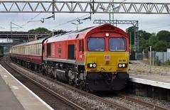 DB 66100 1Z61 (chriswarman) Tags: db 66100 dbschenker charter train london euston buxton cheddington class66 wheels