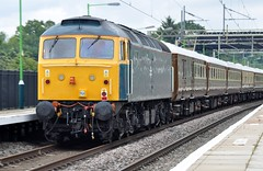 47853 1Z47 (chriswarman) Tags: 47853 1z47 chester windsor cheddington wcml brush class47 br 47 passenger charter train wheels