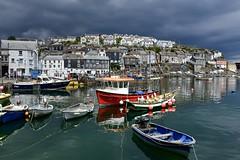 Mevagissey (gavsidey) Tags: ngc d500 cornwall mevagissey dark skies costal port landscape village sea boats