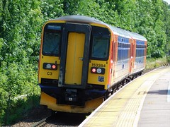 Departing for Newark Castle (The Walsall Spotter) Tags: duffield railway station class153 sprinter dmu 153355 153384 doncaster eastmidlandstrains uk multipleunit diesel networkrail britishrailways singlecardmu