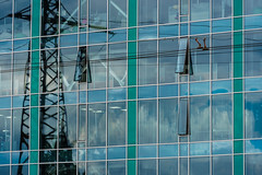 Curtain wall being (nejix) Tags: dnipro dnipropetrovsk ukraine україна дніпро дніпропетровськ glass wall reynaers