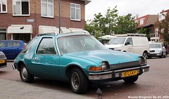 AMC Pacer 1975 (XBXG) Tags: 15gjkp amc pacer 1975 amcpacer american motors americanmotors santpoorterplein haarlem nederland holland netherlands paysbas vintage old classic car auto automobile voiture ancienne américaine us usa vehicle outdoor
