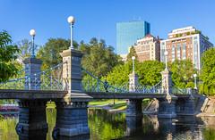 Boston Public Garden Bridge (Eridony (Instagram: eridony_prime)) Tags: boston suffolkcounty massachusetts backbay park publicpark bridge suspensionbridge constructed1869 historic nrhp nationalregisterofhistoricplaces