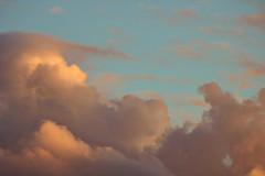 Coucher de soleil 2 (M4kbeth) Tags: nuages nuage sky skies clouds sunset coucherdesoleil soleil ciel ciels été summer cloud orange blue green yellow