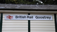 1989 or 2019? (TimboM) Tags: goostrey goostreystation britishrail br sign