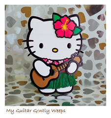 Weeping Guitar (Eclectic Jack) Tags: paper saturday smile sos picture picofpaper