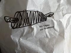 Brötchentüte, HSoS! (dorotheazinsser) Tags: smileonsaturday picofpaper brötchentüte bunbag