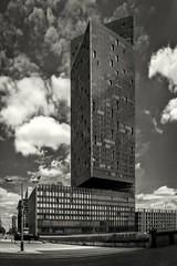 tower bw pano (5Cantonas) Tags: alanbathamimages stratford architecture londonlandmarks vertorama panorama