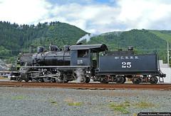 2-6-2 'Prairie' Type Steam Locomotive (jamesbelmont) Tags: mccloudrailway prarie 262 baldwin garibaldi oregon steam tourist oregoncoastscenicrailroad oregoncoast