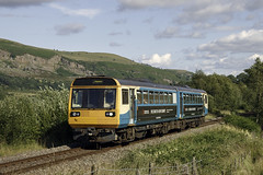 142073 Pontlottyn (Steveo46240) Tags: 142 wales 142073 pontlottyn welshvalleys rhymney passenger pacer