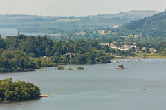 Derwent Water from Surprise View (Future-Echoes) Tags: 4star 2018 boats cumbria derwentwater lake landscape surpriseview thelakedistrict trees borrowdale england unitedkingdom