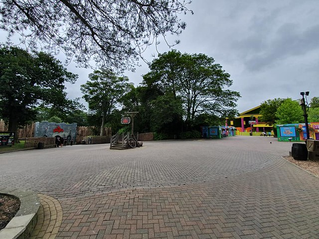 Alton Towers Dungeon and Cloud Cuckoo Land 2019
