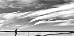Ciel (fred.limbree) Tags: liege luik luttich sky ciel nuages clouds bw nb labelleliegeoise