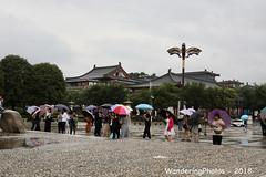 Every one has got an umbrella - Great Wild Goose Pagoda - Xi'An Shaanxi China (WanderingPJB) Tags: flickruploaded umbrella