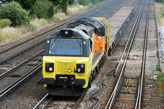Class 70 - 70816 (Signal Box - Railway photography) Tags: outdoor railway railroad ukrailway diesel locomotive class70 70816 colas rail freight freighttrain wortingjunction hampshire mainline