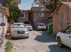 Alviso, California (bior) Tags: alviso sanjose california pentax645nii pentax645 6x45cm portra kodakportra mediumformat 120 portra400nc apartment driveway window
