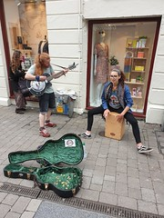 Galway City Ireland July 2019 (sean and nina) Tags: galway city county republic ireland eire irish west coast culture people persons candid street outdoor outside trip travel holiday tourist tourism place road buildings signs musicians performers buskers summer july 2019 guinness old historic history gaelige gaelic murals paintings colourful